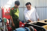 Kiểm tra công tác phòng cháy, chữa cháy dịp tết