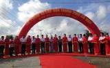 Thủ tướng dự lễ thông xe kỹ thuật đường đến Đất Mũi Cà Mau