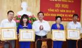 Đảng bộ Văn phòng Tỉnh ủy Long An phấn đấu nâng cao chất lượng tham mưu, phục vụ