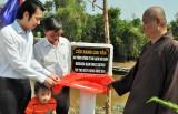 Khánh thành cầu kênh Gia Vấn, Thủ Thừa, Long An