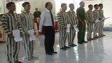 354 phạm nhân được giảm thời hạn chấp hành hình phạt tù