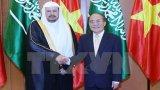 Chủ tịch Quốc hội hội đàm với người đồng cấp Saudi Arabia