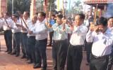 Đức Hòa viếng nơi thành lập Chi bộ Đảng đầu tiên của tỉnh