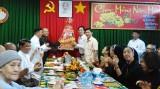 Đoàn chức sắc, tôn giáo dân tộc tỉnh Long An thăm, chúc tết