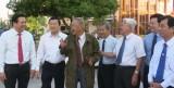 Chủ tịch nước  Trương Tấn Sang chúc tết Đảng bộ và nhân dân tỉnh Long  An