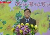 Chủ tịch UBND tỉnh Long An - Đỗ Hữu Lâm  chúc mừng Xuân mới Bính Thân 2016