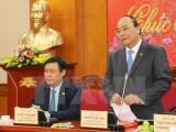 Phó Thủ tướng Nguyễn Xuân Phúc làm việc với Ban Kinh tế Trung ương