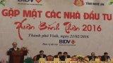 Chủ tịch Quốc hội dự Hội nghị xúc tiến đầu tư tỉnh Nghệ An 2016