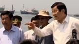 Chủ tịch nước thăm huyện đảo Lý Sơn, Quảng Ngãi