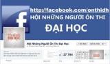 Ôn thi đại học qua Facebook
