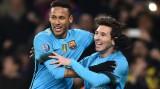 Messi lần đầu sút tung lưới Cech, Barca đá bại Arsenal 2-0