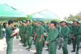 Lực lượng vũ trang Long An: Tiếp nhận quân năm 2016