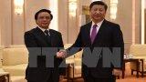 Chủ tịch Trung Quốc tiếp đặc phái viên Tổng Bí thư Nguyễn Phú Trọng
