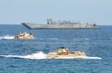 Mỹ, Ấn Độ, Nhật Bản tập trận chung ở Đông Bắc Biển Đông