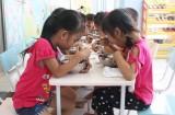 Hỗ trợ suất ăn trưa, chi phí học tập cho trẻ mầm non