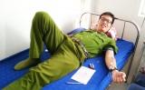 Chiến sĩ công an hơn 30 lần hiến máu tình nguyện