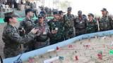Việt Nam tham gia diễn tập gìn giữ hòa bình tại Ấn Độ