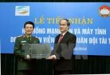 Viettel hỗ trợ Mặt trận Tổ quốc mạng LAN và máy tính để bầu cử