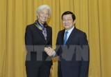 Chủ tịch nước: Việt Nam trân trọng những khuyến nghị của IMF