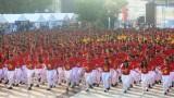 2.000 sinh viên Y dược Cần Thơ nhảy flashmob