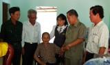 Khám bệnh, cấp thuốc miễn phí cho 250 hội viên cựu chiến binh và người nghèo