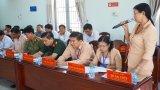 Bí thư Tỉnh ủy Long An - Phạm Văn Rạnh làm việc với Ban Thường vụ Huyện ủy Mộc Hóa