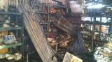 Chập điện gây cháy chợ Hậu Thạnh Đông