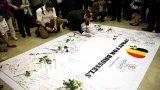 Nghẹn ngào tưởng niệm các nạn nhân trong vụ khủng bố ở Brussels
