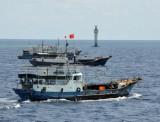 Malaysia phát hiện 100 tàu, thuyền Trung Quốc xâm phạm lãnh hải