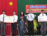 Thị trấn Tầm Vu đạt chuẩn văn hóa