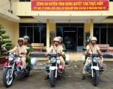 Vĩnh Hưng: Xây dựng đoạn đường an toàn giao thông