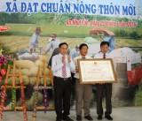 An Nhựt Tân đón nhận danh hiệu xã đạt chuẩn nông thôn mới