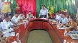 Kiểm tra công tác chuẩn bị bầu cử ở Tân Hưng