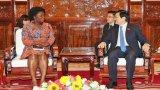Chủ tịch nước mong WB hỗ trợ Việt Nam đối phó xâm nhập mặn