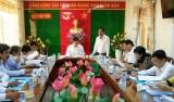 Kiến Tường tổ chức hội nghị Ban Chấp hành Đảng bộ thị xã lần thứ 4