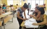 Thí sinh lớp 12 bắt đầu đăng ký dự thi THPT Quốc gia năm 2016