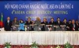 Hội nghị Chánh án các nước ASEAN lần thứ 4 ra tuyên bố chung