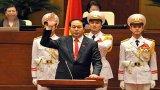 Chủ tịch nước hứa làm hết sức mình phụng sự Tổ quốc, phục vụ Nhân dân