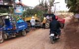 Bức xúc việc xe máy cày hoạt động trên đường tỉnh 817