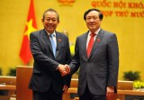 Tiểu sử tân Chánh án Tòa án NDTC Nguyễn Hòa Bình