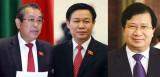 Tiểu sử 3 tân Phó Thủ tướng