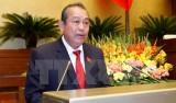Phó Thủ tướng Trương Hòa Bình nói gì sau khi nhậm chức?