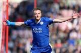 Jamie Vardy lập cú đúp, Leicester City cận kề ngày đăng quang