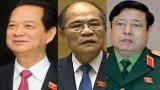 Quốc hội phê chuẩn miễn nhiệm 3 thành viên Hội đồng Quốc phòng-an ninh