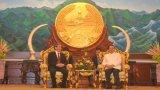 Lãnh đạo Đảng, Nhà nước Lào tiếp đoàn đại biểu cấp cao Việt Nam