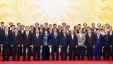 Gặp mặt các thành viên Chính phủ nhiệm kỳ khóa 12, 13