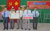 Phú Ngãi Trị đón nhận danh hiệu xã văn hóa - nông thôn mới