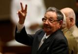 Chủ tịch Cuba Raul Castro chúc mừng ban lãnh đạo Việt Nam