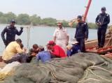 Malaysia đã bắt giữ tàu cá cùng 14 ngư dân Việt Nam