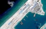 Mỹ phản đối Trung Quốc hạ cánh máy bay quân sự trên đá Chữ Thập